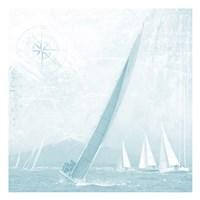 Boating On The Seas 2 Fine Art Print