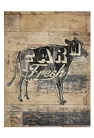 Farm Fresh Cow Fine Art Print