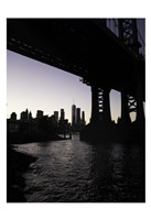 NYC at Dusk Fine Art Print