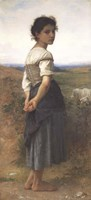 The Young Shepherdess, 1885 Fine Art Print