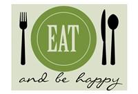 Happy Eating Fine Art Print