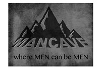 Manly Mancave Fine Art Print