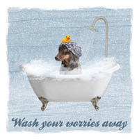 Worry Wash Fine Art Print