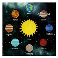 Solar System Fine Art Print