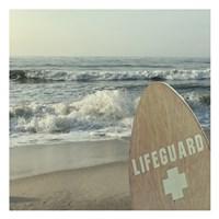 Vigilant Lifeguard Fine Art Print