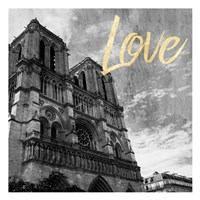 Paris Love 3 Fine Art Print