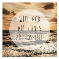 Godly Possibilities Fine Art Print