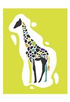 Fun Giraffe Fine Art Print