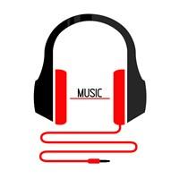 Headphones Music Fine Art Print