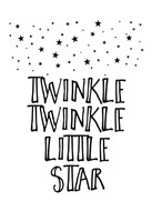Twinkle Twinkle Little Star Fine Art Print