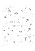 But First Snowflakes Fine Art Print