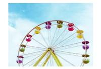 Summer Ferris Wheel 1 Fine Art Print