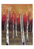 Forest Red 1 Fine Art Print