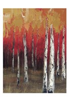 Forest Red 2 Fine Art Print
