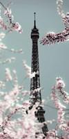 Spring Eiffel Pastel Fine Art Print