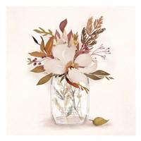 Autumn Mason Jar 1 Fine Art Print