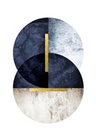 Dark Navy Fine Art Print