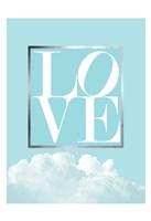 Love Joy Geo Turquoise 1 Fine Art Print