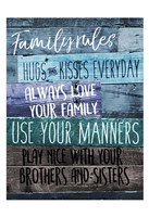 Family Rules Fine Art Print