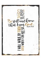 Quoted Cross Fine Art Print