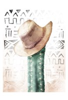 Tribe Cactus Fine Art Print