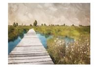 On The Marsh Fine Art Print