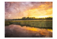 Marsh Sunset Fine Art Print