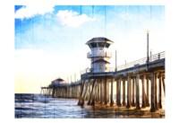 Huntington Pier Fine Art Print
