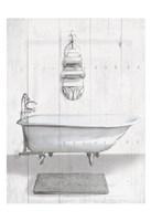 Simple Bath Fine Art Print