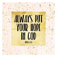 Hope In God Fine Art Print