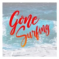 Gone Surfing Fine Art Print