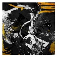 Dark Gold Frost Fine Art Print