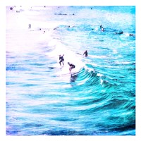Wave Time Fine Art Print