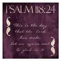 Psalm This Purp Fine Art Print