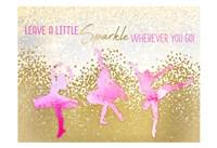 Leave a LIttle Sparkle v2 Fine Art Print