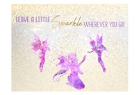 Leave a LIttle Sparkle v3 Fine Art Print
