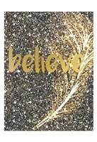 Gold Feather 1 Fine Art Print