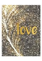 Gold Feather 3 Fine Art Print