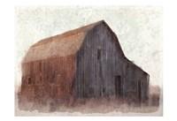 At the Barn Fine Art Print