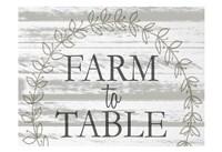 Farm to Table Wreath Fine Art Print
