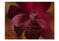 Blooming Spice Fine Art Print