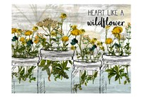 Wildflower Jar 6 Fine Art Print