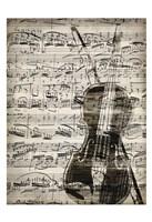 Music Sheets 1 Framed Print