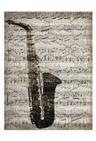 Music Sheets 2 Framed Print