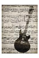 Music Sheets 3 Framed Print