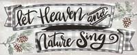 Heaven and Nature Fine Art Print