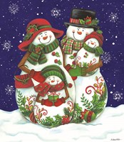 Snow Family I Fine Art Print