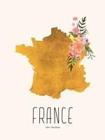Gold France Fine Art Print