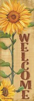 Welcome Sunflower Fine Art Print