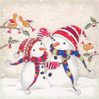 Snow Dancers Fine Art Print